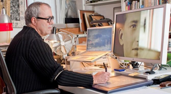 De studio van André Thijssen