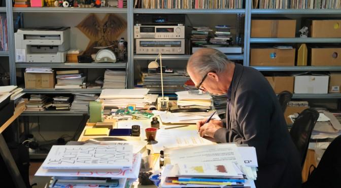 De studio van Joost Swarte