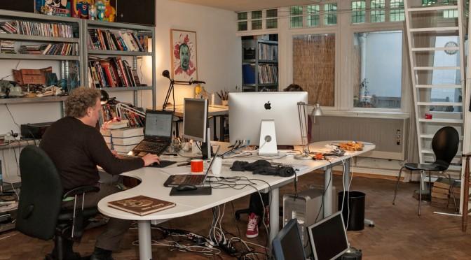 De studio van Moker Ontwerp