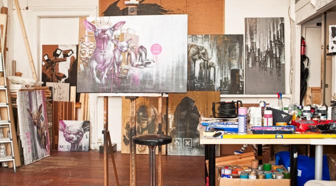 De studio van Sit