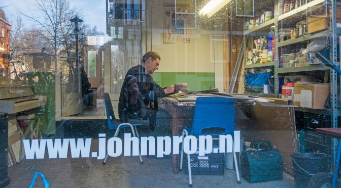 De studio van John Prop