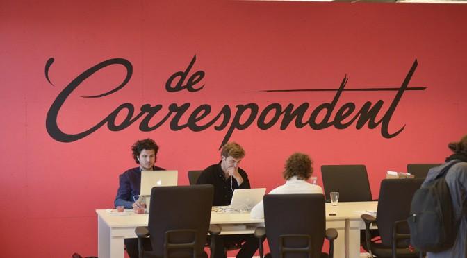 Harald Dunnink van Momkai over het ontwerpen voor 'De Correspondent'