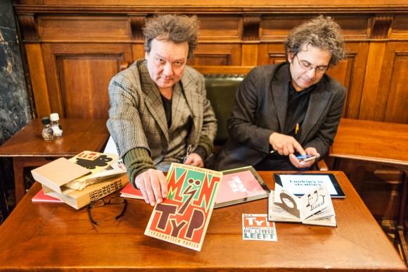 Links Peter Mertens,rechts Max Kisman.