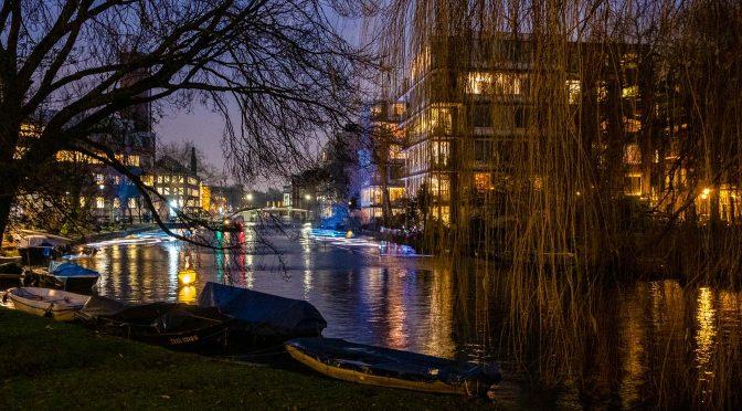 Langs een stukje Amsterdam Light Festival