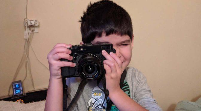 Tiago als fotograaf